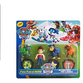 Shribossji Paw Patrol Action With Light For Kids