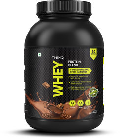 THINQ Whey Protein Blend - Chocolate 2Lbs