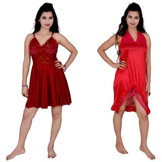 Kismat Fashion Combo of Two Nighty