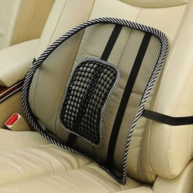 Mesh Ventilation Back Rest with Lumbar Support For Safari Storme