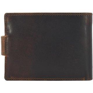 Annodyne Men's BROWN LUIS Genuine Leather Wallet_A517WM