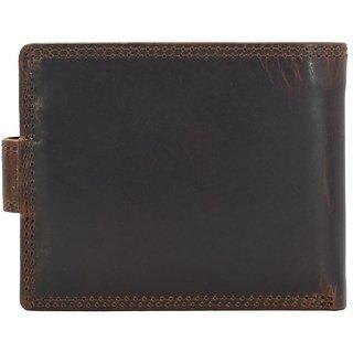 Annodyne Men's BROWN MARIO Genuine Leather Wallet_A521WM