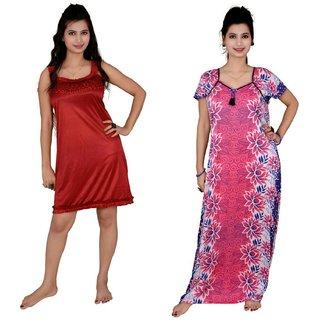 Kismat Fashion Combo of Two Nighty