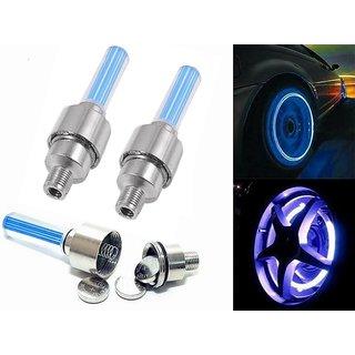 U.S.Traders Car / Bike Tyre Flash Wheel Lights 3 Pair
