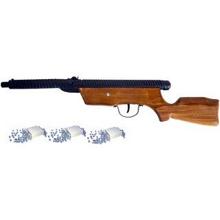 Buy shera air gun high range free 400 double head bullets