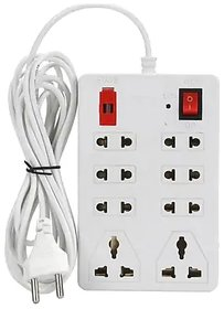 Imported Extension Cord Board with 4 yard wire - 8 Socket - 6 AMP - Power Strip
