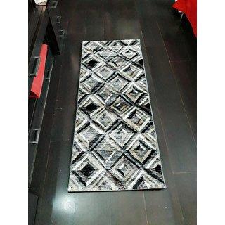 Winner Polypropylene Home Designer Carpet Mat (Malaga Eco Certified, Multicolour Carpet Mat 60 x 145 cm)-30005325