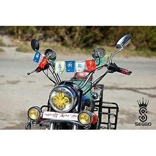 SEGGO Tibetian Buddhist Prayer Flags For Motorbike