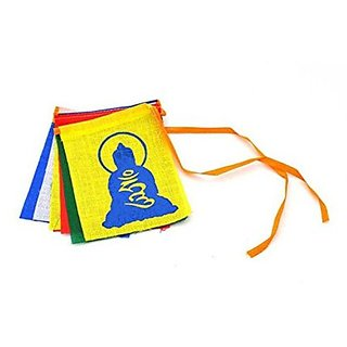 SEGGO Buddha Tibetian Buddhist Prayer Car Flags