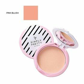 Avon Simply Pretty Shine no More SPF 14 Pressed Powder 11g - Pink Blush