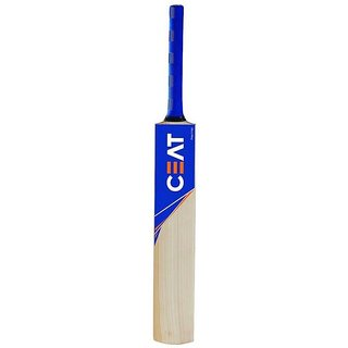 CEAT Sticker Poplar/Popular Willow Cricket Bat (For Tennis Ball)  Size-5 (For Age Group 10-12 Yrs)