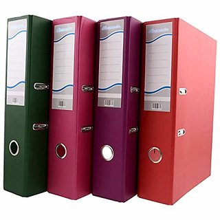 Box File   Post Binder   31 Cms X 35 Cms X 8 Cms  Pack Of 4 Pcs.