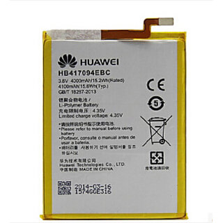 Buy 100 Percent Original Huawei Mate 7 Battery (HB417094EBC) BATTERY