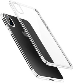 Baseus Plating Ultra Thin Protective Back Cover for iPhone X