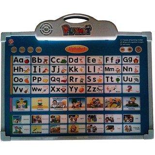 SHRIBOSSJI Abc Learning, Drawing, Battery Operated Educational Musical Playmat