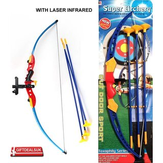 SHRIBOSSJI Super Archery Shoot Set Bow Arrow toy for kids Archery Kit