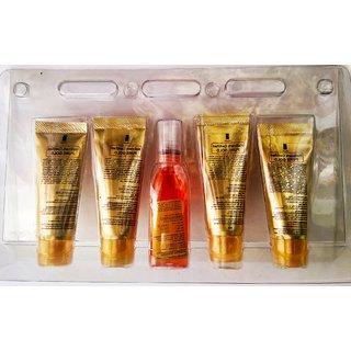 shahnaaza husain gold facial kit (set of 5) 55gm