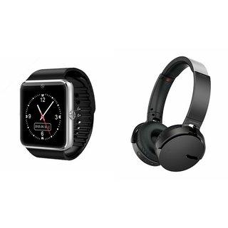 ZEMINI GT08 Smart Watch And Headphone (Extra Bass XB650 Headphone) for MOTOROLA driod turbo 2
