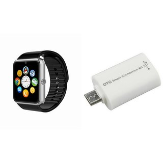 QWERTY GT08 Smart Watch & Smart OTG for GIONEE CTRL V4S