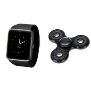 YSB GT08 Smart Watch And Metal Spinner (Hand Spinner) for MICROMAX CANVAS DOODLE