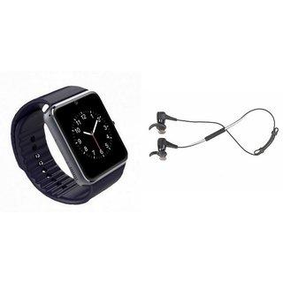 CUBA GT08 Smart Watch & Reflect Headset for HTC DESIRE 400 DUAL SIM