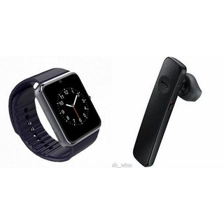 GT08 Smart Watch & Bluetooth Headset (HM1100 Headset) for GIONEE ELIFE 5S.1