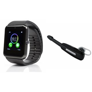 ZEMINI GT08 Smart Watch And Bluetooth Headset (HM1000 Headset) for SONY xperia x8