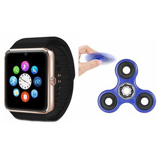 MIRZA GT08 Smart Watch And Fidget Spinner (Hand Spinner) for MICROMAX CANVAS XL 2