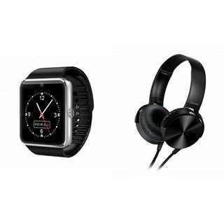MIRZA GT08 Smart Watch & Extra Extra Bass Headphones for PANASONIC P3 1