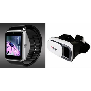 ZEMINI GT08 Smart Watch And VR Box for SONY xperia neo v