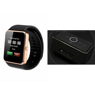 ZEMINI GT08 Smart Watch And Bluetooth Speaker (Bose_ BE8 Speaker) for PANASONIC P50 IDOL