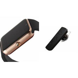 CUBA GT08 Smart Watch & Bluetooth Headset (HM1100 Headset) for XOLO Q600