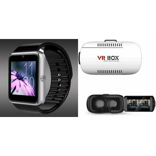 ZEMINI GT08 Smart Watch And VR Box for MICROMAX CANVAS MEGA