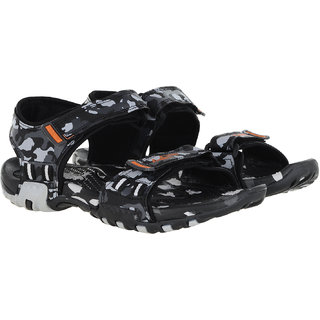 ebcc32a6c4d0 Buy Lancer Black Grey Sandals Online - Get 0% Off