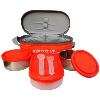 Milton Executive 3 Containers Lunch Box   400 ml  4.1