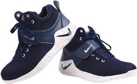 Metmo Men's Blue Stylish Sport Shoes