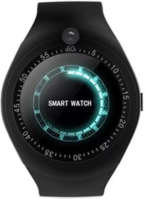 Y1 Round Screen Smart Watch with SIM Card Slot and Camera with Fitness Band Features Pedometer/Loud Speake