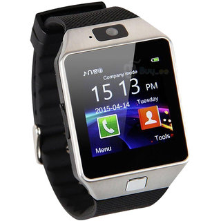 BLUETOOTH smart watch for android with camera and sim slot