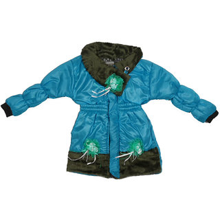 Chequers Blue Jackets for Girls