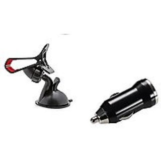 Combo For Car Charger+ Universal car Mobile Holder