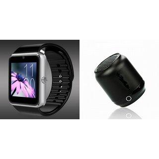 ZEMINI GT08 Smart Watch And Bluetooth Speaker (Hopestar_ H8 Speaker) for LG G PRO 2