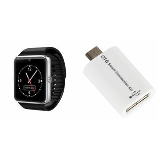QWERTY GT08 Smart Watch & Smart OTG for LENOVO s930