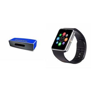 ZEMINI GT08 Smart Watch And Bluetooth Speaker (BO-X2 Speaker) for REDMI 2