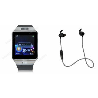 QWERTY DZ09 Smart Watch & Reflect Headset for HTC DESIRE L