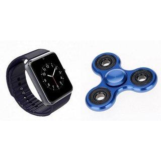 ETN GT08 Smart Watch And Fidget Spinner (Hand Spinner) for OPPO R3