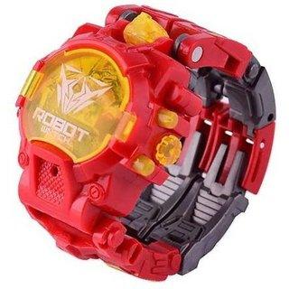 SHRIBOSSJI Avenger Infinity War Iron man robot converting Wrist watch  (Multicolor)