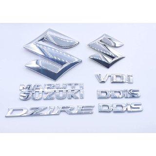Customize Dzire VDI DDIS Maruti Suzuki Emblem Kit