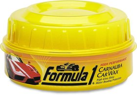 Imported Formula 1 Carnauba Car Wax Paste - 230 GM (Made in USA)