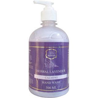 Khadi Pure Herbal Lavender Hand Wash - 500ml