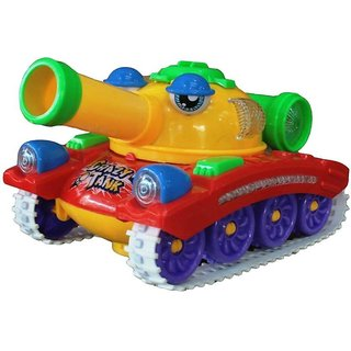 SHRIBOSSJI Crazy tank with launching bomb toy for kids with best quality and a best toy gift for kids/children.